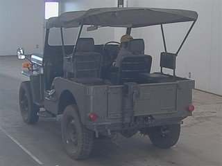 1958 MITSUBISHI JEEP 1953-1960 CJ3 BJ10 WILLYS 2.2 ARMY MILITARY  For Sale (picture 2 of 3)