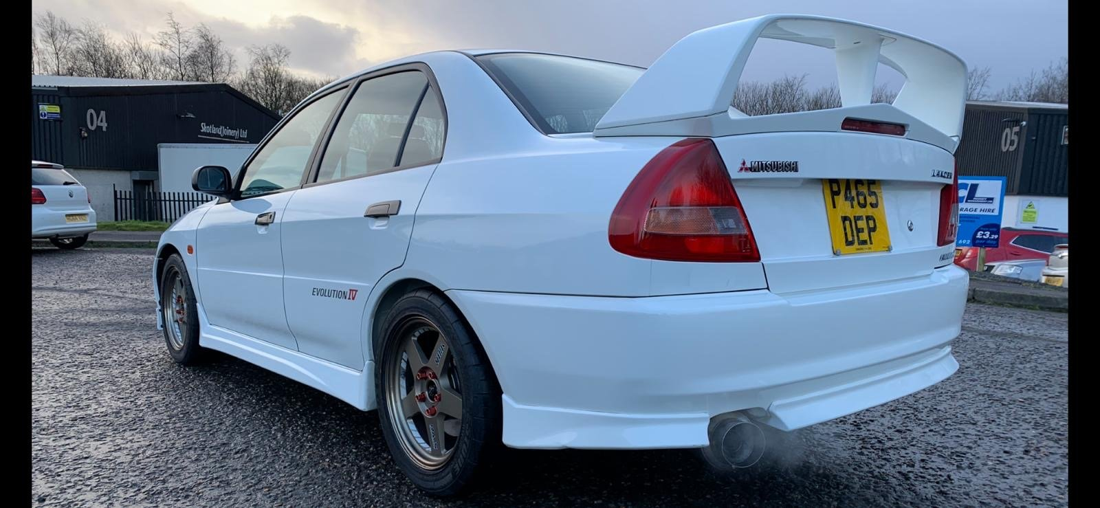 1997 Mitsubishi Lancer Evolution 4 RS For Sale (picture 2 of 6)