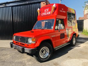Mitsubishi Shogun Pajero Ice Cream Van Icecream cf
