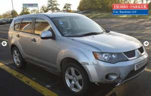 Picture of 2010  Mitsubishi Outlander 4work 80,839 miles auction 25th
