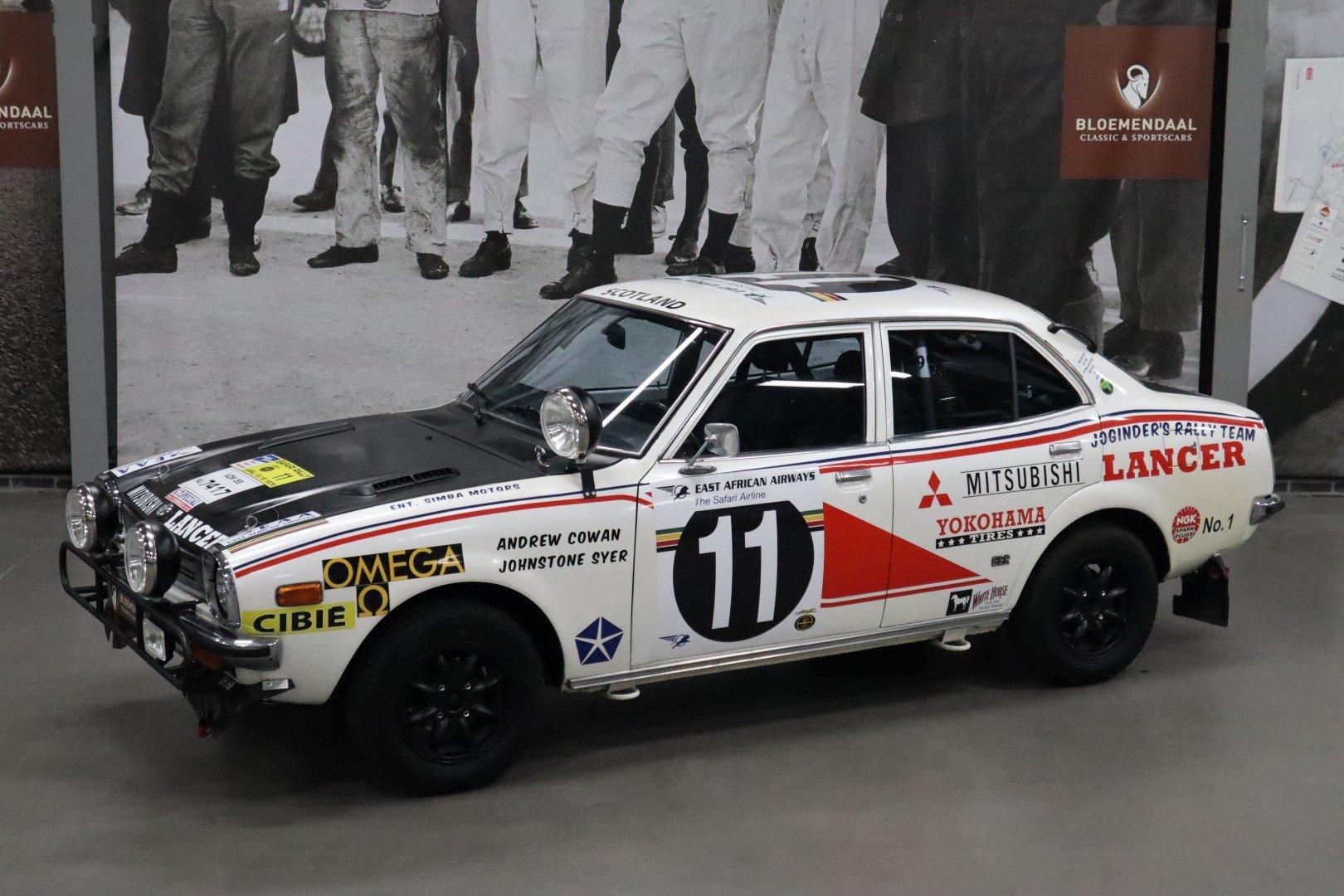 1977 Mitsubishi Lancer 1600 GSR Safari Rally For Sale (picture 1 of 12)