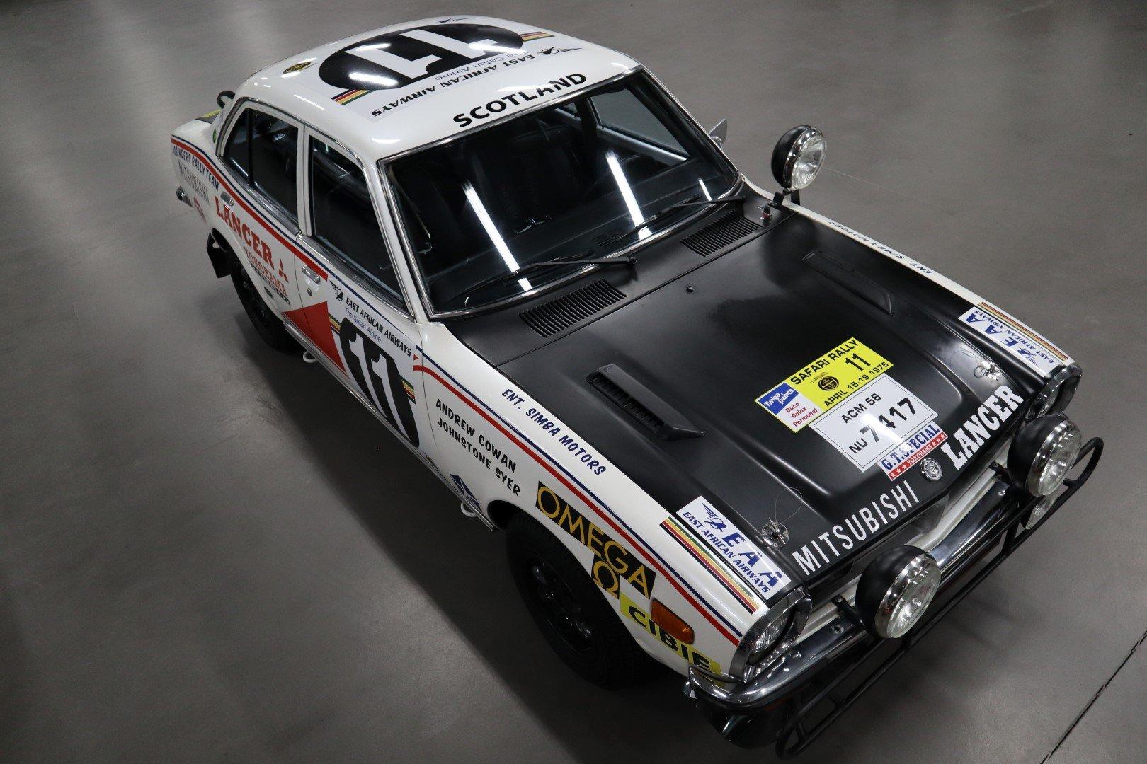 1977 Mitsubishi Lancer 1600 GSR Safari Rally For Sale (picture 8 of 12)