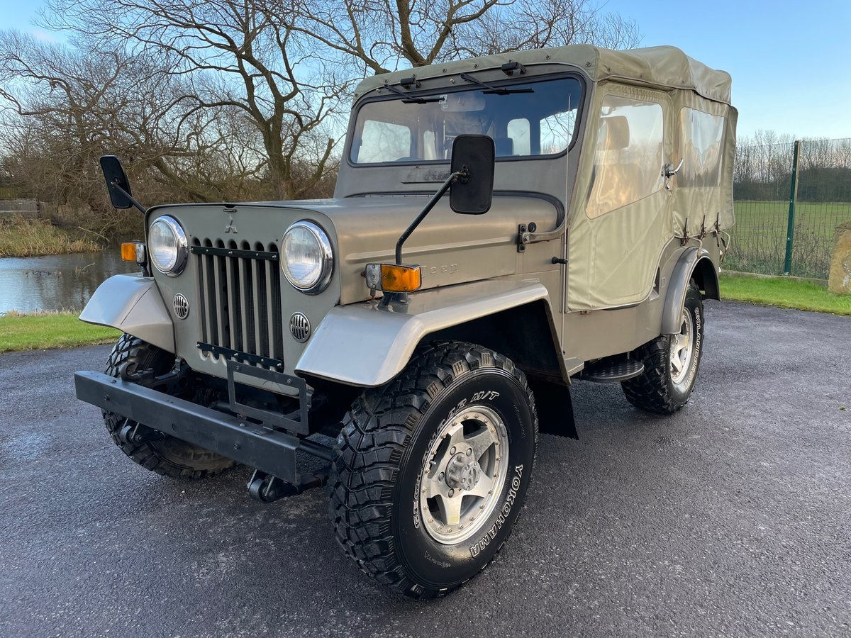 1980 MITSUBISHI JEEP J54 2.7 DIESEL ON & OFF ROAD 4X4 SOFT TOP *  For Sale (picture 1 of 6)