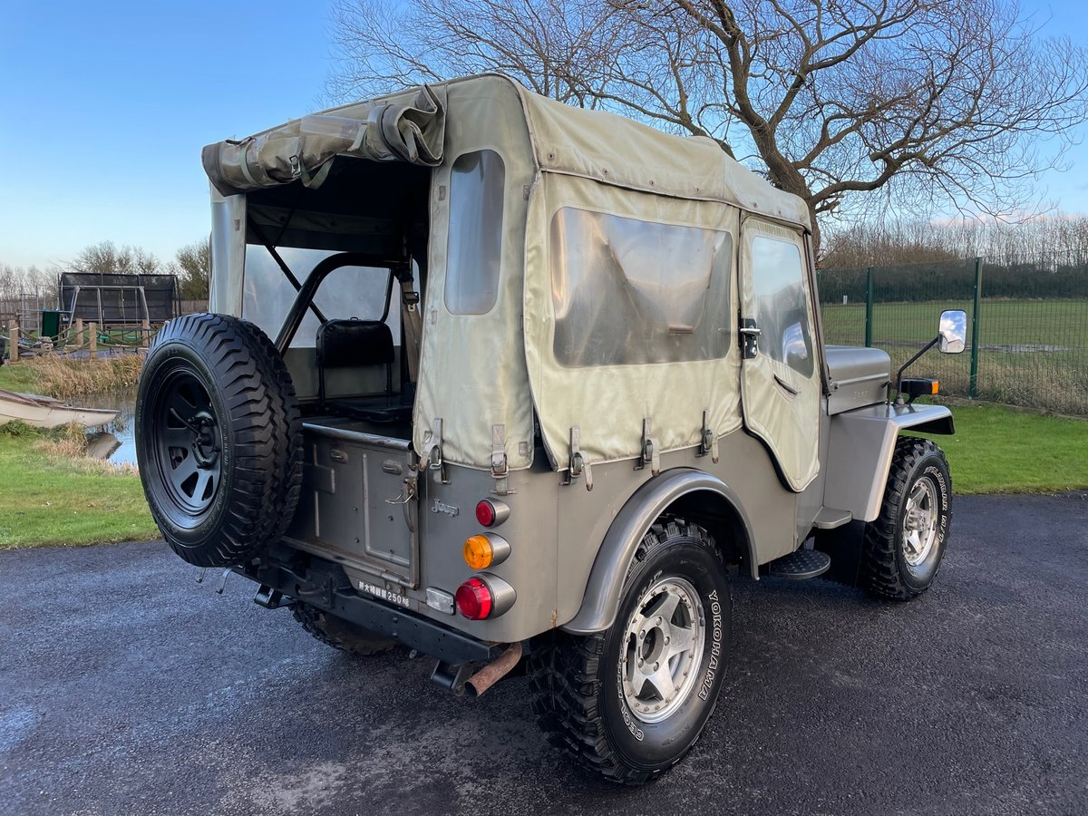 1980 MITSUBISHI JEEP J54 2.7 DIESEL ON & OFF ROAD 4X4 SOFT TOP *  For Sale (picture 2 of 6)