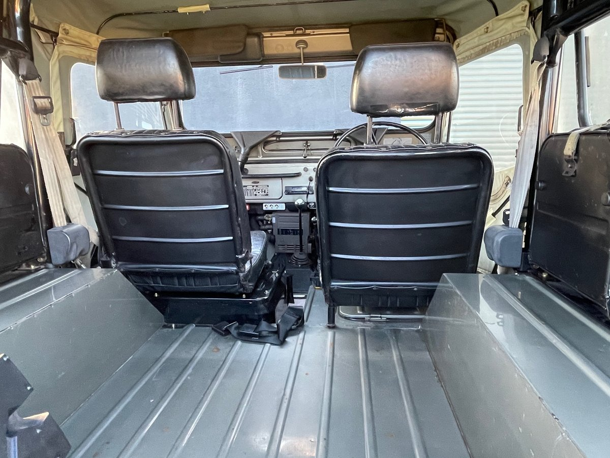 1980 MITSUBISHI JEEP J54 2.7 DIESEL ON & OFF ROAD 4X4 SOFT TOP *  For Sale (picture 4 of 6)