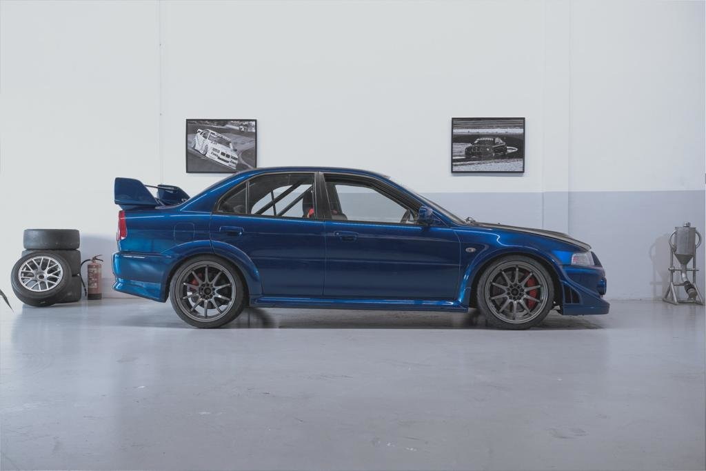 1999 Super clean this roadlegal EVO6 Trackdaycar. For Sale (picture 2 of 5)