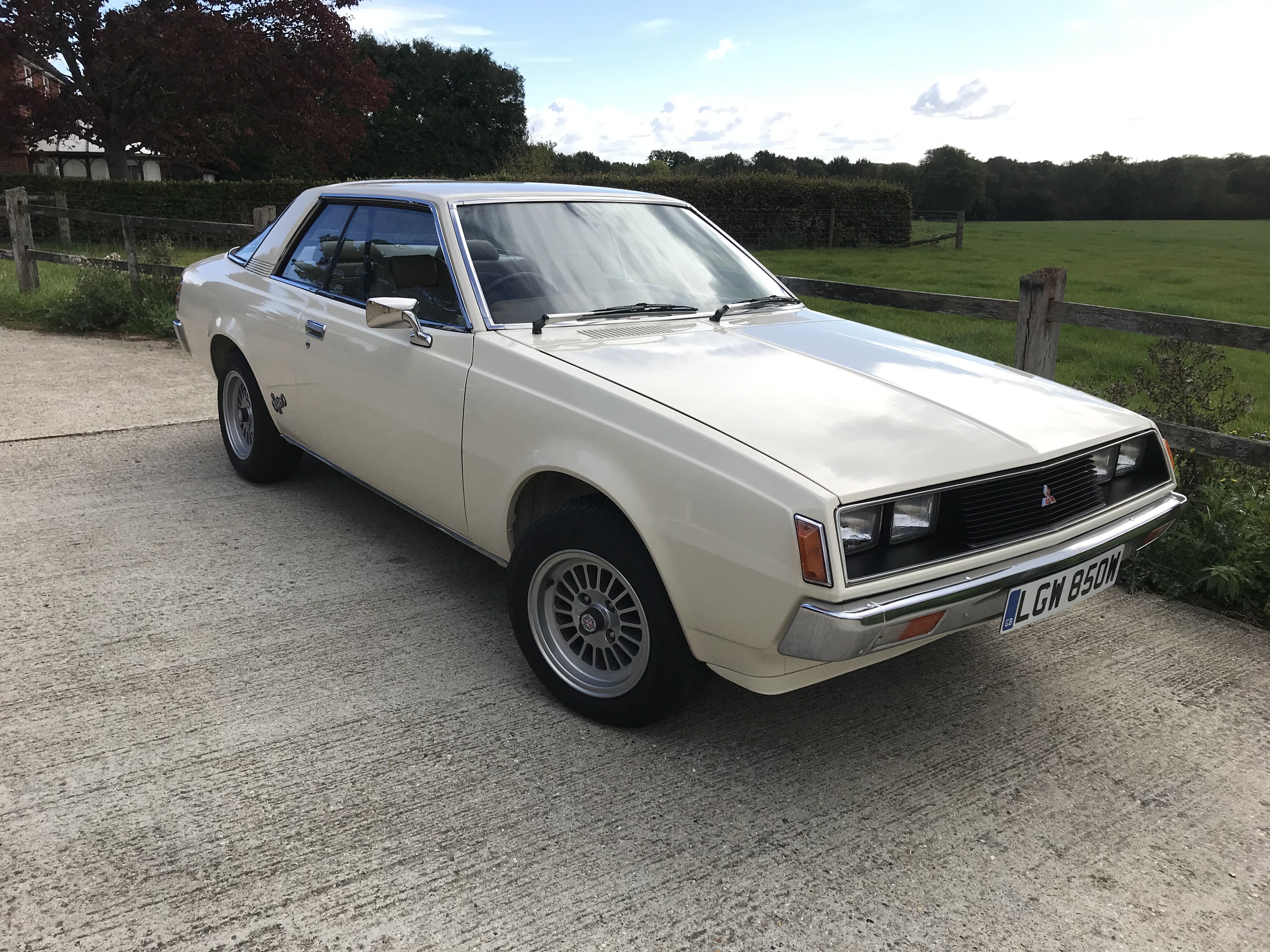 ABSOLUTELY STUNNING MITSUBISHI SAPPORO COUPE NOT STARION