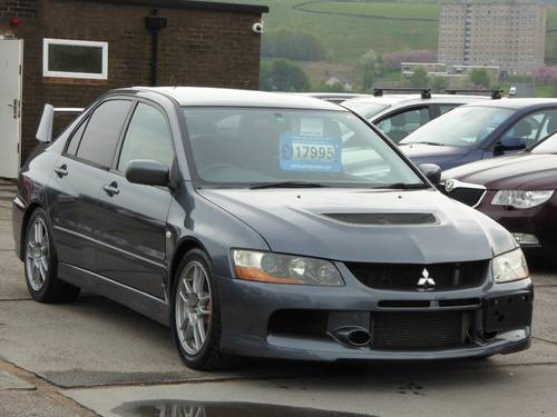2006  Lancer 2.0 EVOLUTION IX MR LTD EDN 4dr EVO 9 MR LIMITED EDI For Sale (picture 1 of 6)