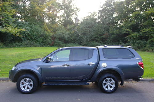 MITSUBISHI L200 BARBARIAN.. DOUBLE CAB..LOW MILES.. FSH.. SOLD (picture 1 of 6)