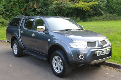 MITSUBISHI L200 BARBARIAN.. DOUBLE CAB..LOW MILES.. FSH.. SOLD (picture 2 of 6)