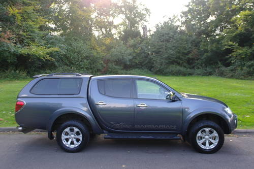 MITSUBISHI L200 BARBARIAN.. DOUBLE CAB..LOW MILES.. FSH.. SOLD (picture 5 of 6)