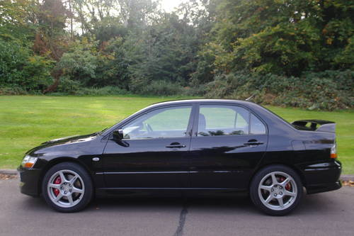 MITSUBISHI LANCER EVO. UK CAR. VERY LOW MILES! FSH..1 OWNER SOLD (picture 1 of 6)