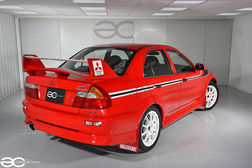 2000 Red Lancer Evolution Tommi Makinen Edition - 56k miles. SOLD (picture 2 of 6)
