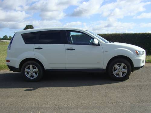 2011 MITSUBISHI OUTLANDER 2.2 Did 5 DOOR COMMERCIAL For Sale (picture 2 of 6)