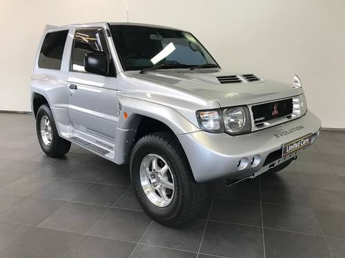 1997 MITSUBISHI PAJERO EVOLUTION SECOND OWNER CAR RHD For Sale (picture 1 of 6)