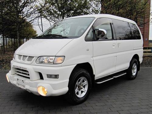 2006 DELICA SPACEGEAR 3.0 ACTIVE FIELD 7 SEATER 4X4  SOLD (picture 1 of 6)