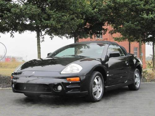 2005 MITSUBISHI ECLIPSE GTS SPYDER CONVERTIBLE CABRIOLET LHD For Sale (picture 3 of 6)