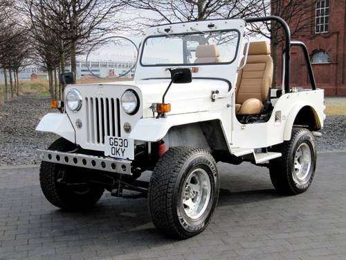6495 Mitsubishi Jeep J53 Willys 2 7 Diesel 4x4 Soft Top For Sale