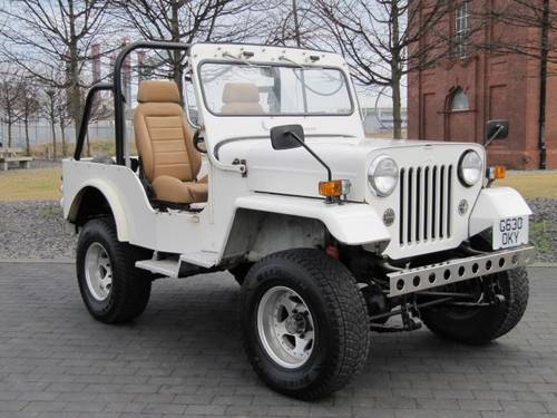 6495 MITSUBISHI JEEP J53 WILLYS 2.7 DIESEL 4X4 SOFT TOP  For Sale (picture 5 of 6)