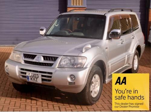 2003 Mitsubishi Pajero Exceed 3.5 GDi Auto For Sale (picture 1 of 6)