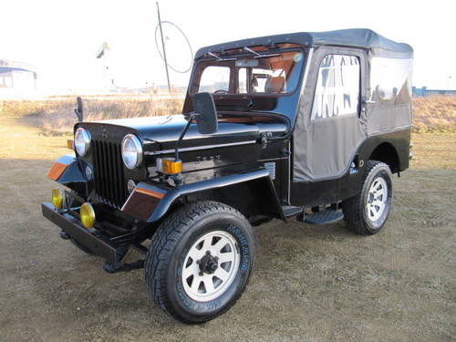 1985 J54 2.7 DIESEL ON & OFF ROAD 4X4 SOFT TOP * WILLYS STYLE For Sale (picture 1 of 6)