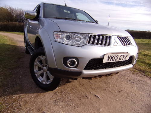 2013 Mitsubishi L200 2.5DI-D Warrior 4x4 (No VAT) D/C (117,364m) For Sale (picture 1 of 6)