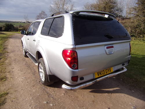 2013 Mitsubishi L200 2.5DI-D Warrior 4x4 (No VAT) D/C (117,364m) For Sale (picture 2 of 6)