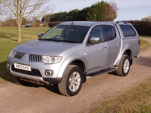 2013 Mitsubishi L200 2.5DI-D Warrior 4x4 (No VAT) D/C (117,364m) For Sale (picture 3 of 6)