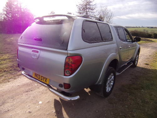 2013 Mitsubishi L200 2.5DI-D Warrior 4x4 (No VAT) D/C (117,364m) For Sale (picture 4 of 6)