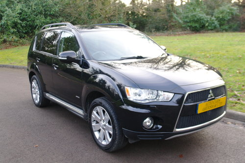 2013 Mitsubishi Outlander GX4 Diesel.. Hi Spec.. 1 Owner.. FSH.. SOLD (picture 1 of 6)