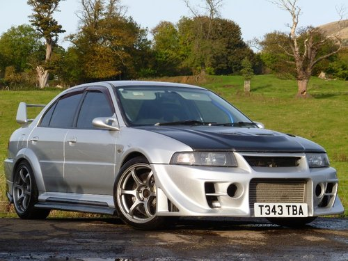 1999 Mitsubishi Evo 6 477.5bhp £45,000 build For Sale (picture 1 of 6)