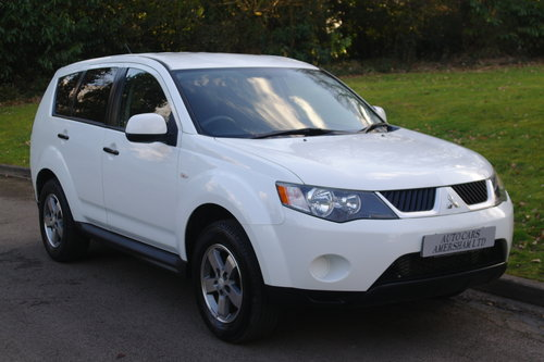 2009 Mitsubishi Outlander Equippe. 2.0 Diesel Turbo. 4x4. Bargain SOLD (picture 1 of 6)