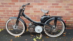 1962 MOBYLETTE MOPED PEDAL AND GO STARTS RUNS For Sale
