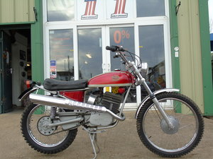 Picture of Mondial Radial Cross 125cc 1974 Rare Un-Molested Classic