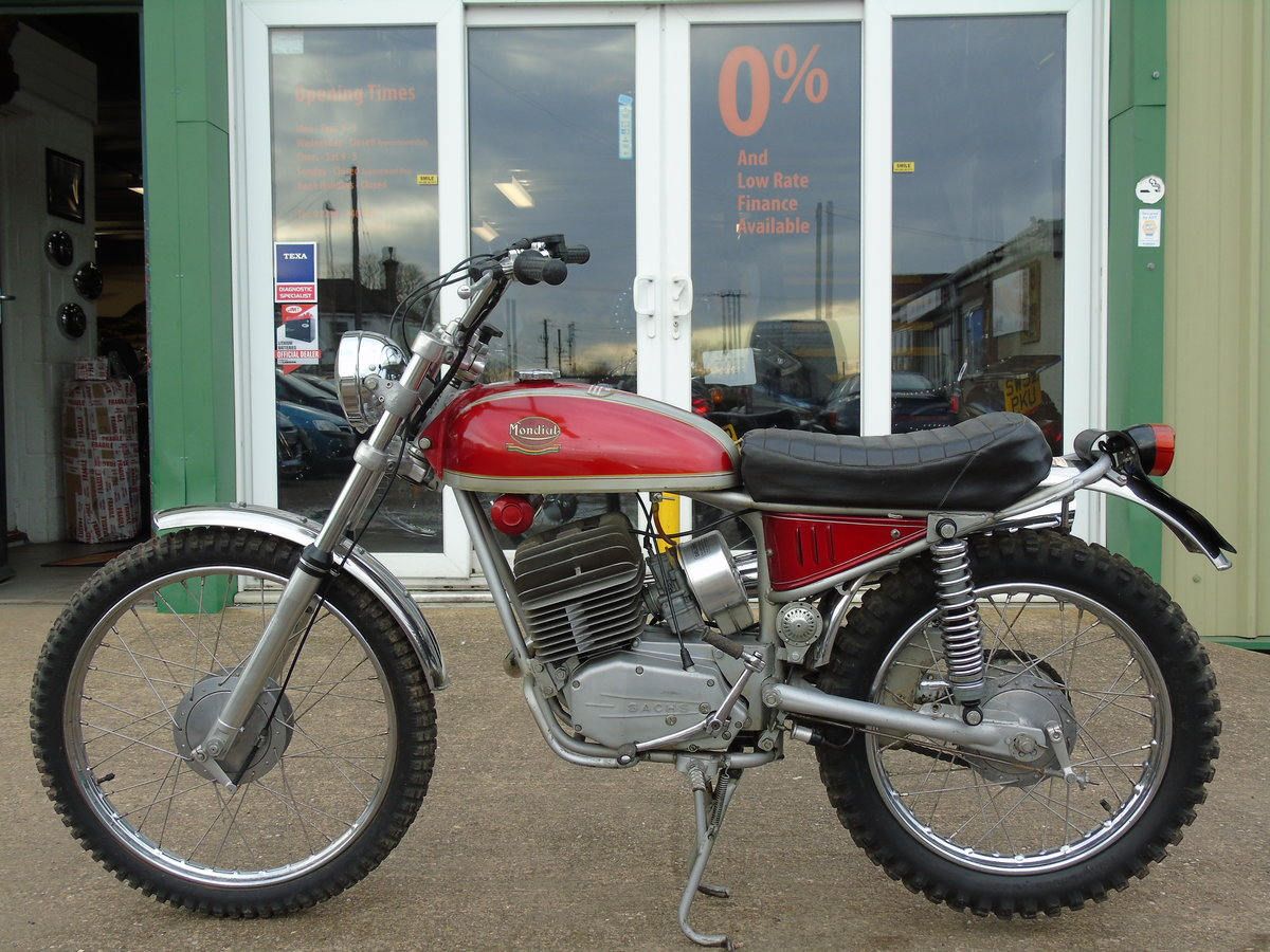 Mondial Radial Cross 125cc 1974 Rare Un-Molested Classic For Sale (picture 2 of 6)
