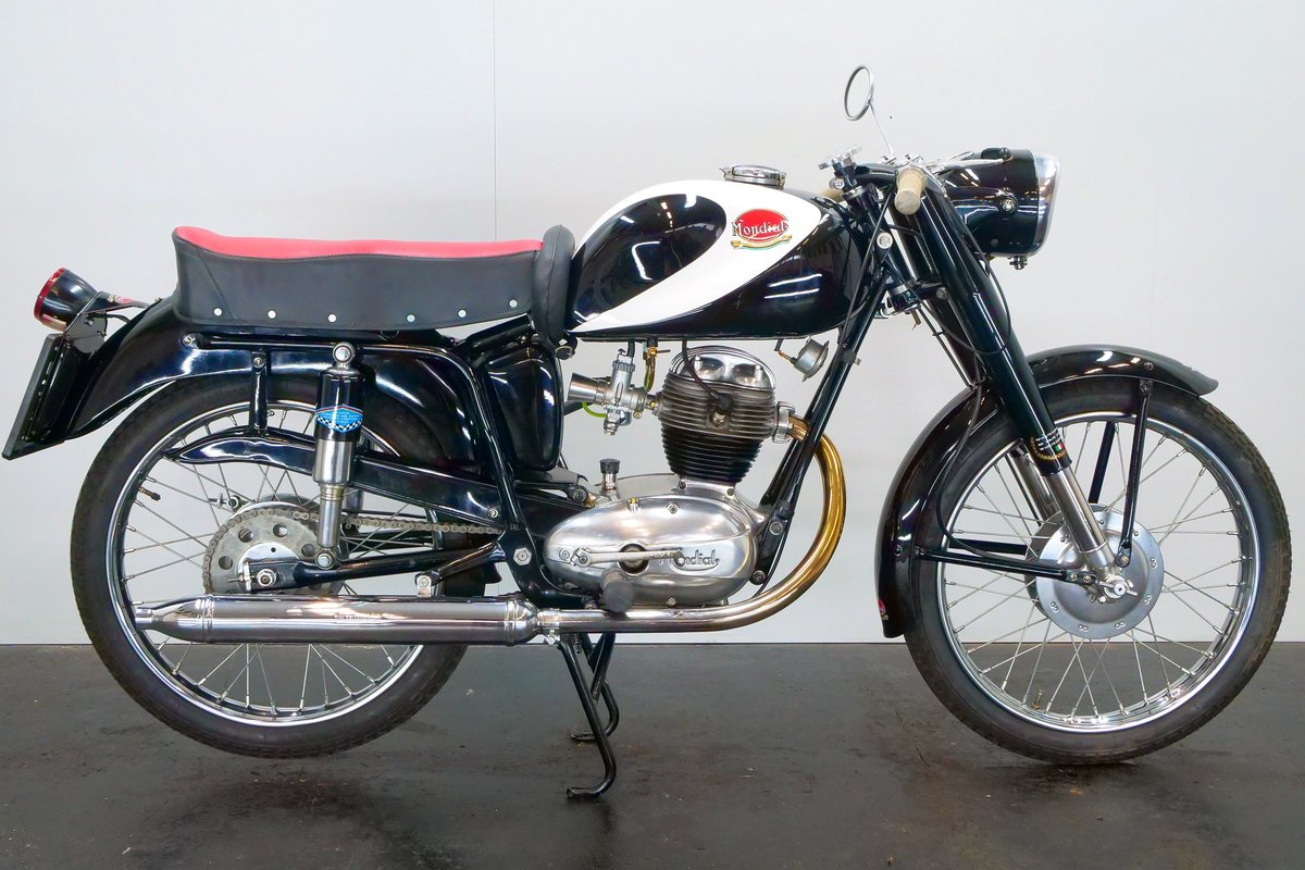 Mondial Champion Lusso 1956 125cc 1 cyl ohv For Sale (picture 1 of 6)