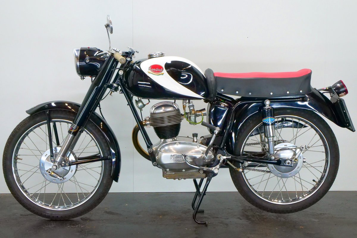 Mondial Champion Lusso 1956 125cc 1 cyl ohv For Sale (picture 2 of 6)