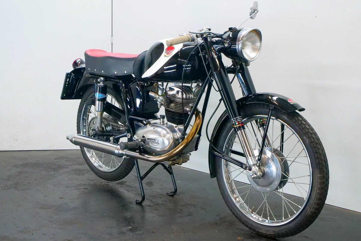 Mondial Champion Lusso 1956 125cc 1 cyl ohv For Sale (picture 3 of 6)