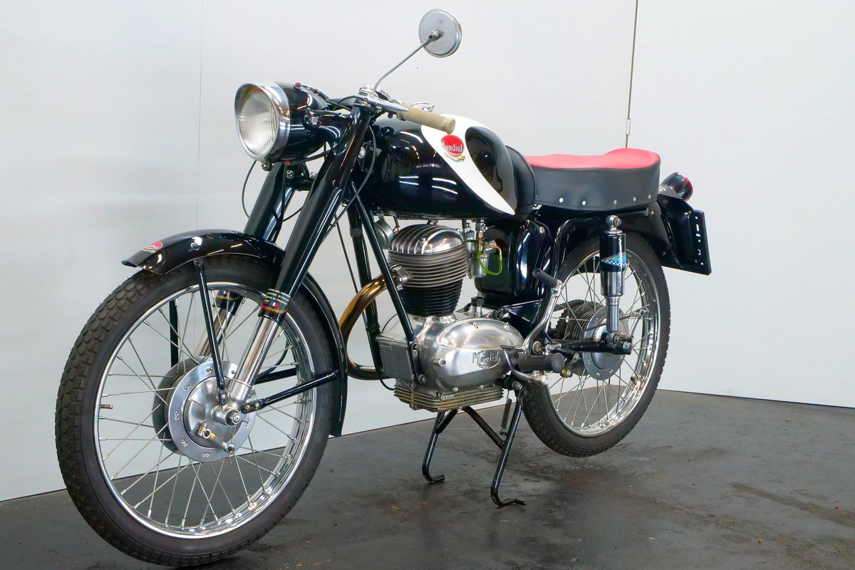 Mondial Champion Lusso 1956 125cc 1 cyl ohv For Sale (picture 4 of 6)