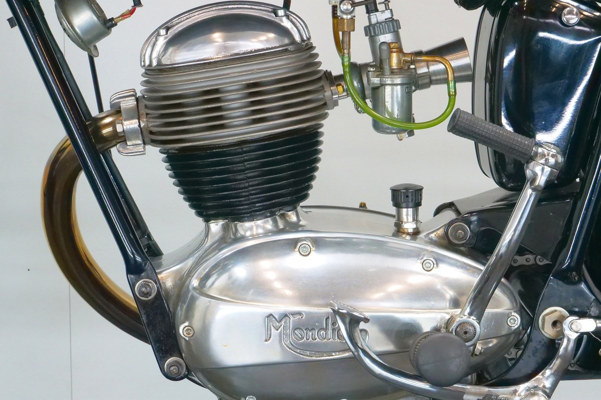 Mondial Champion Lusso 1956 125cc 1 cyl ohv For Sale (picture 6 of 6)