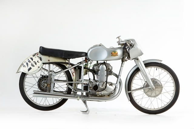 1950 MONDIAL 125CC GRAND PRIX RACING MOTORCYCLE (LOT 644) SOLD by Auction (picture 1 of 1)