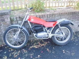 0000 **REMAINS AVAILABLE** Montesa 247 Trials Bike For Sale by Auction