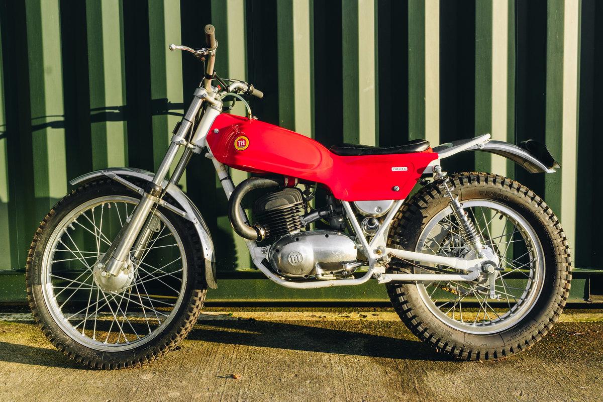 1970 Montesa Cota 247 Mk2 Trial Bike MINT! For Sale (picture 2 of 10)