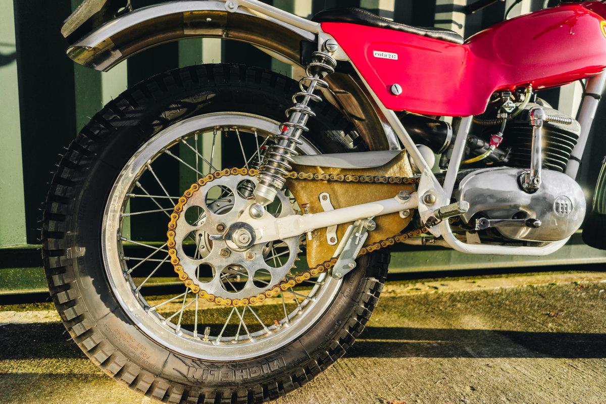 1970 Montesa Cota 247 Mk2 Trial Bike MINT! For Sale (picture 6 of 10)
