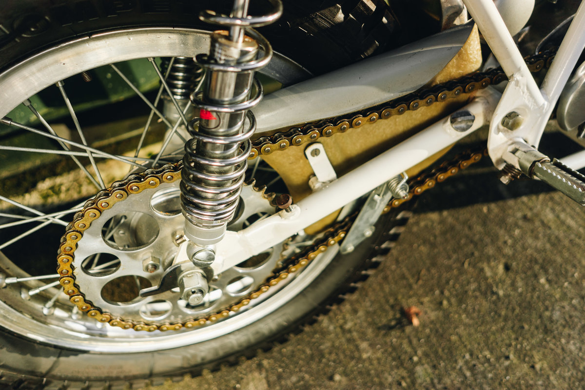 1970 Montesa Cota 247 Mk2 Trial Bike MINT! For Sale (picture 8 of 10)