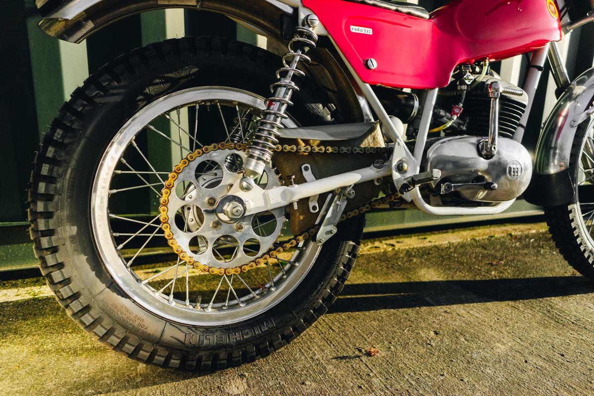 1970 Montesa Cota 247 Mk2 Trial Bike MINT! For Sale (picture 9 of 10)