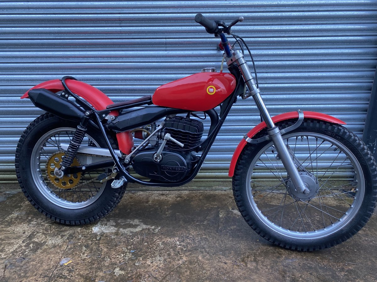 1985 MONTESA TWIN SHOCK TRIALS ACE BIKE RUNS MINT! OSSA TANK  For Sale (picture 1 of 6)