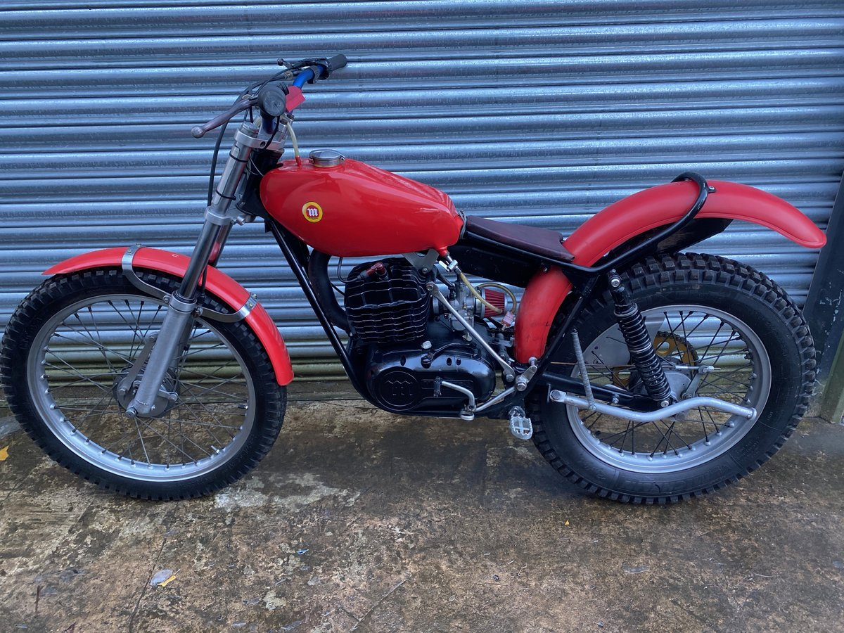 1985 MONTESA TWIN SHOCK TRIALS ACE BIKE RUNS MINT! OSSA TANK  For Sale (picture 4 of 6)