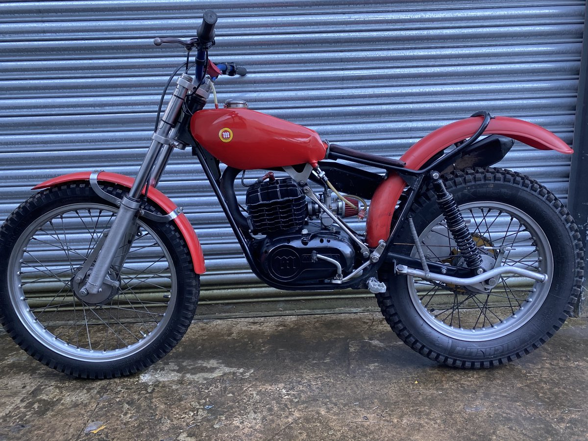 1985 MONTESA TWIN SHOCK TRIALS ACE BIKE RUNS MINT! OSSA TANK  For Sale (picture 6 of 6)