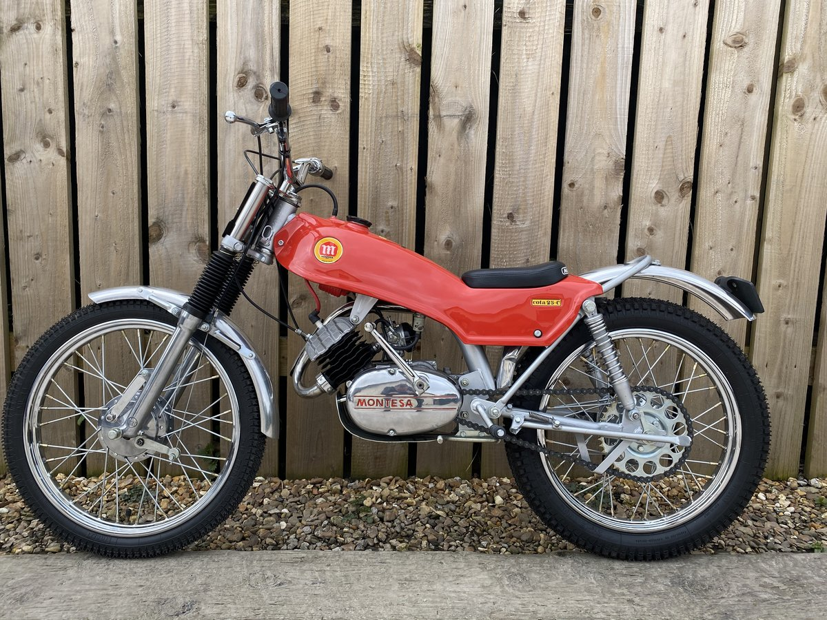 1975 MONTESA COTA 49 MINI TRIAL MINT AND RARE CLASSIC £3795 ONO For Sale (picture 4 of 5)